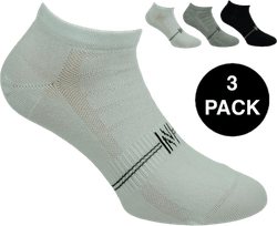 Fresh- 3-Pack Cotton Low Cut Training Socks Patterned