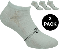 Fresh- 3-Pack Cotton Low Cut Training Socks White