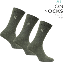 3-Pack Casual Socks - Brody Grey