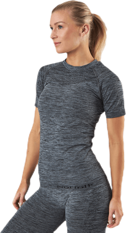 Dylan Seamless T-Shirt Grey