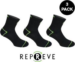 Rhino Repreve Socks Black