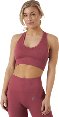 Erica Seamless Sports Bra Pink/Red