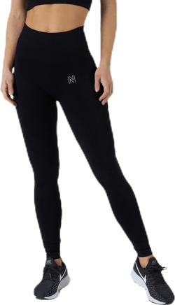 Erica Seamless Tights Black