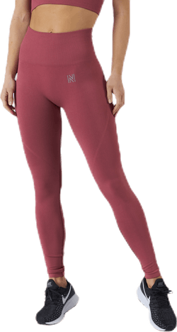 Erica Seamless Tights Pink/Red