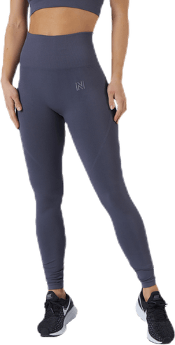 Erica Seamless Tights Blue