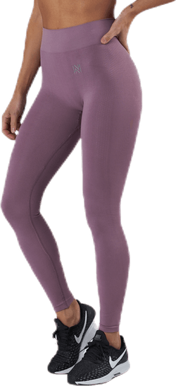 Kim Seamless Tights Purple