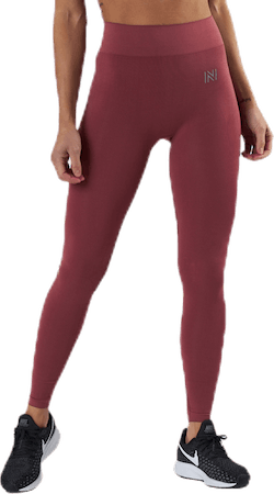 Kim Seamless Tights Pink
