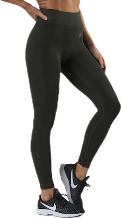 Kim Seamless Tights Green