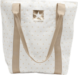 Mini Star Shopper Ecru Pink/Gold