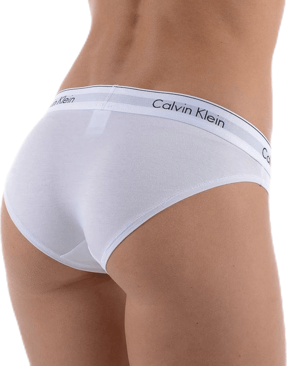 Modern Cotton Bikini Brief White