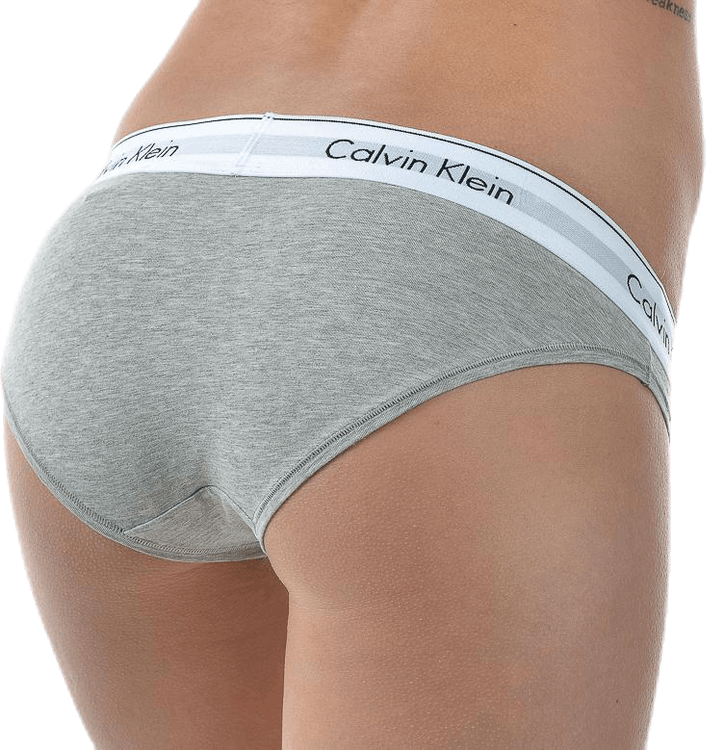 Modern Cotton Bikini Brief Grey