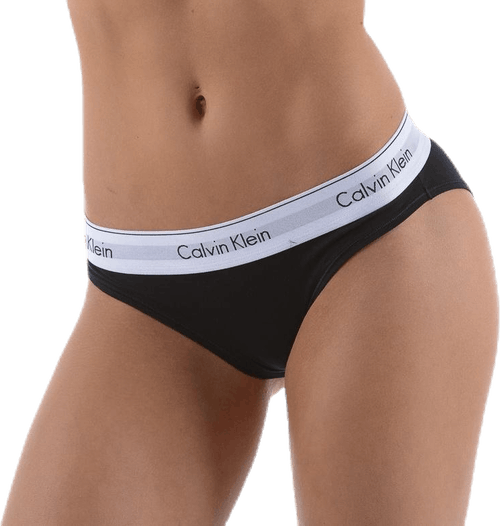 Modern Cotton Bikini Brief Black