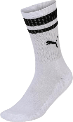 Crew Heritage Stripe 2-pack White/Black