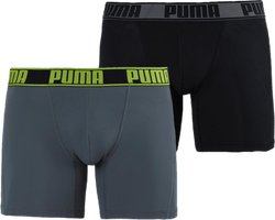 Active Boxer 2-Pack Grey/Yellow
