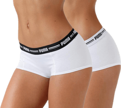 Iconic Mini Short 2p White
