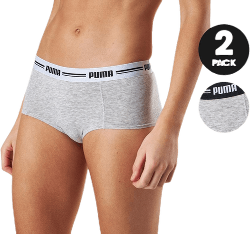 Iconic Mini Short 2-Pack Grey