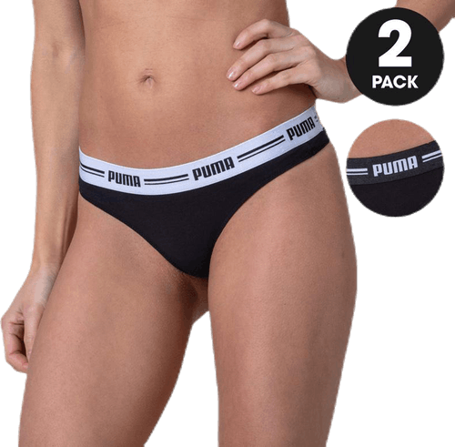 Iconic String 2-Pack Hang Black