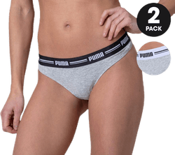 Iconic String 2-Pack Hang Grey