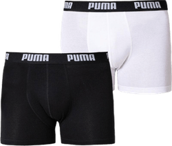 Basic Boxer 2-Pack White/Black