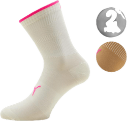 Rib Sock 2-Pack Beige