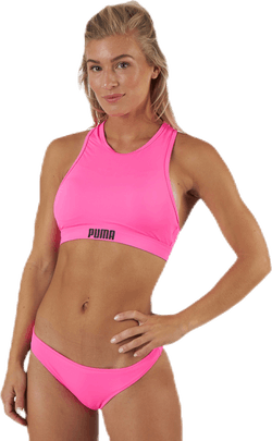 Racerback Swim Top Pink