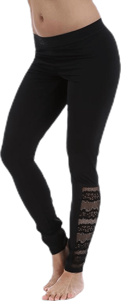 Black Electric Legging Black