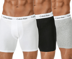 Boxer Brief 3-Pack White/Black/Grey