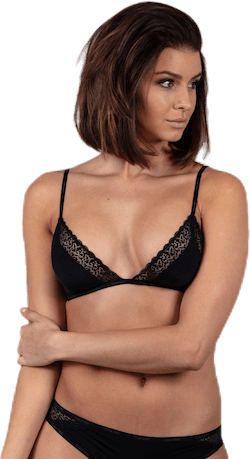 Unlined Triangle Black