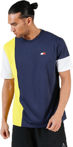 T-Shirt Colourblocked Yellow