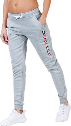 Fleece Jogger Logo Grey