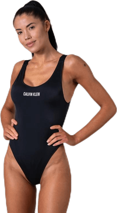 Intense Power Scoop Swimsuit Black