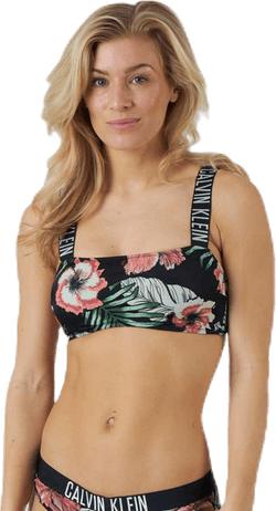 Intense Power Bandeau-Print Patterned