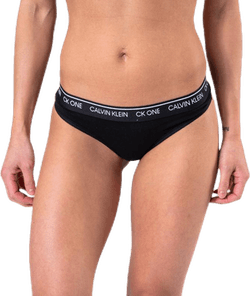 Ck One Cotton Thong Black