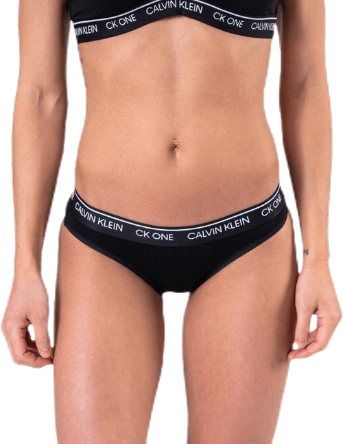 Ck One Cotton Bikini Brief Black