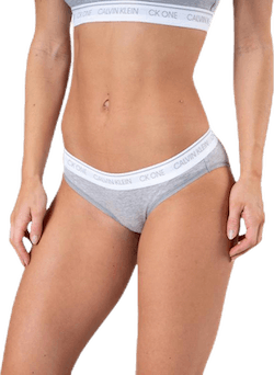Ck One Cotton Bikini Brief Grey