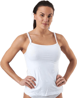 Ck One Cotton Camisole Top 2-Pack White