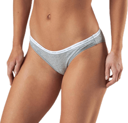 Ck One Cotton Bikini Brief 2-Pack Grey