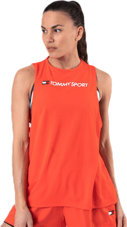 Performance Tank Top Logo Orange