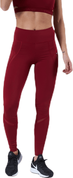 Full Length Training Legging Red