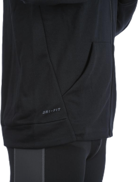 Dry Fleece FZ Hoodie White/Black