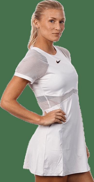 Maria Dress Pink/White