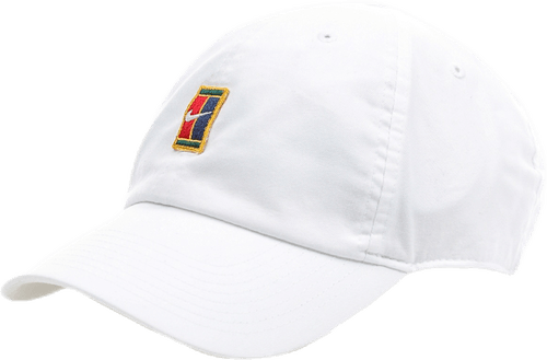 Court Logo Cap White