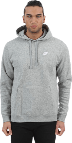 Club Fleece Hoodie Grey
