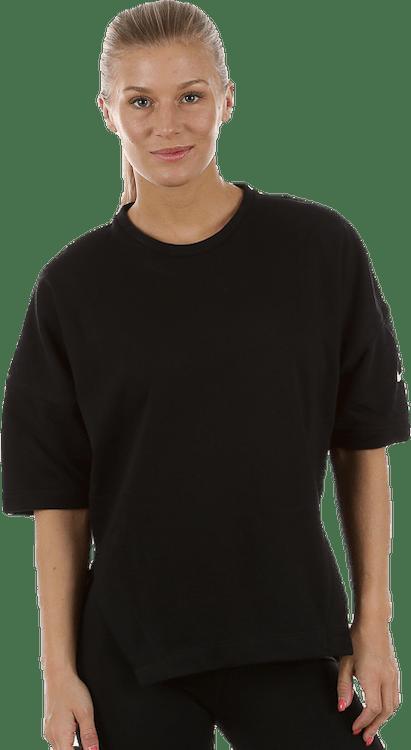 Versa Dry 3/4 Sleeve Top White/Black