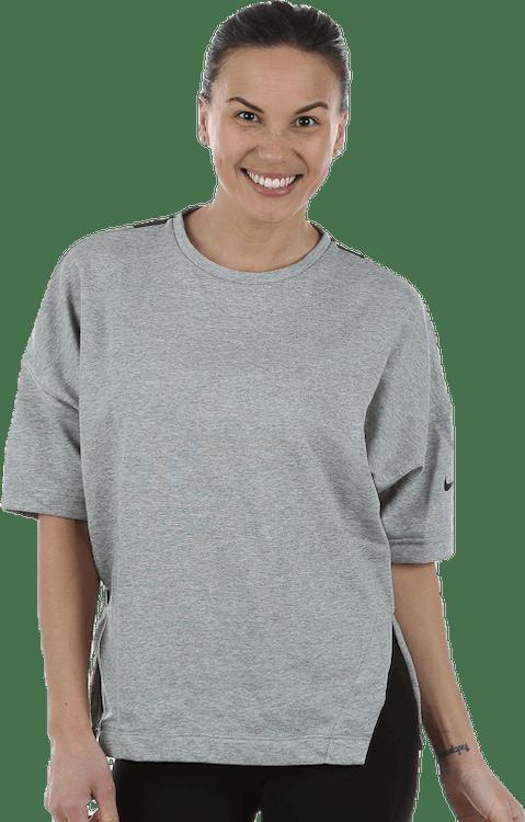 Versa Dry 3/4 Sleeve Top Black/Grey