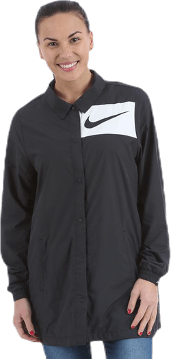 Swoosh Jacket Black