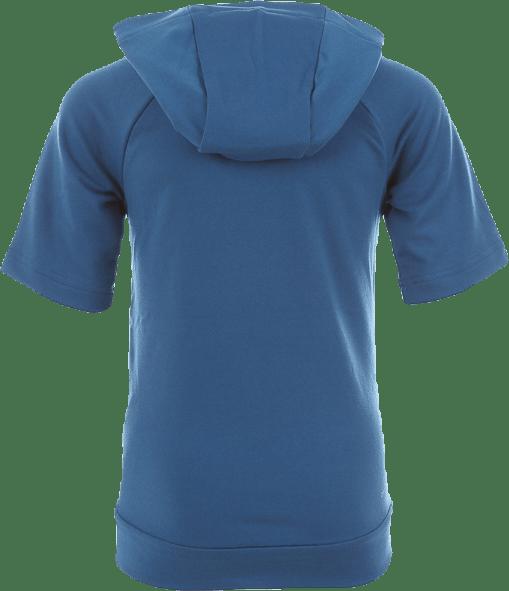 Dry Hoodie SS Hyper Fleece Jr Blue