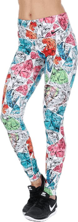 Gym Pro Power Tight Patterned/White