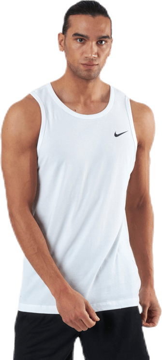 Dri-Fit Training Tank Solid White