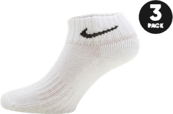 3-pack Cushion Ankle White/Black
